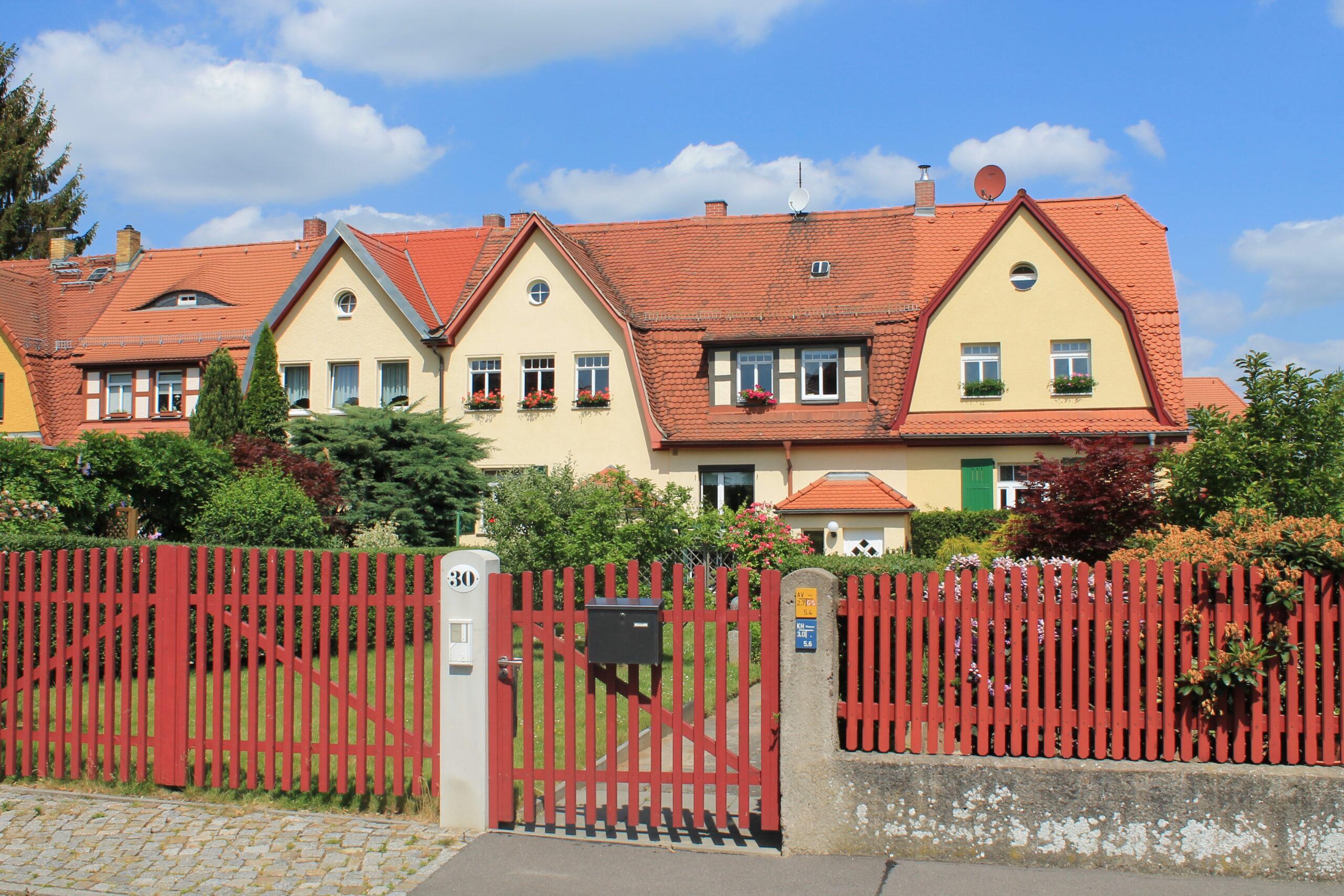 Die Eigenheimsiedlung Briesnitz