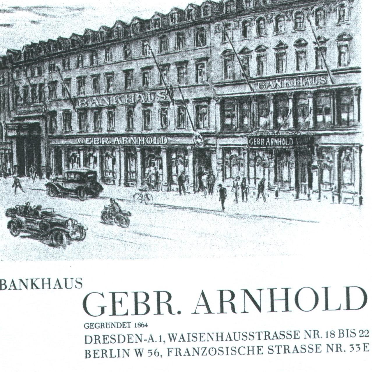 Die Bankiersfamilie Arnhold