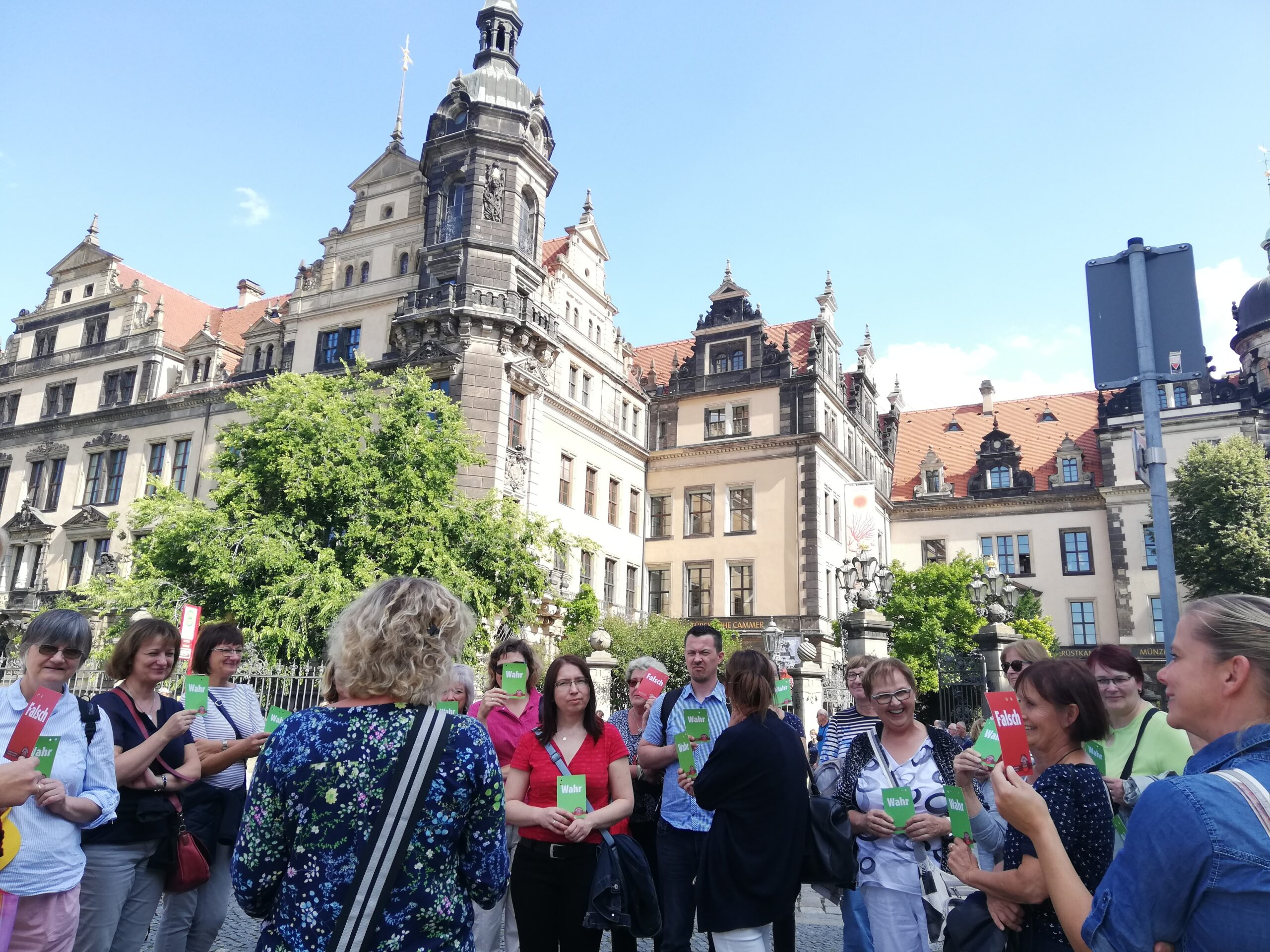 Die Dresdner Schwindeltour